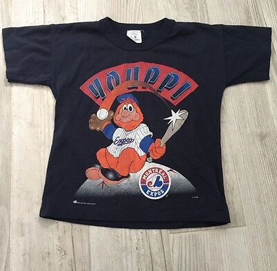 Rare Vintage Youppi Montreal Expos Mascot T Shirt A4 Free Shipping!