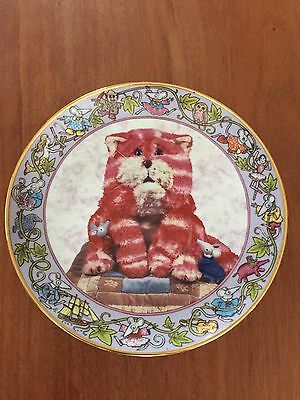 Bagpuss And The Mice Collectors Plate By Danbury Mint