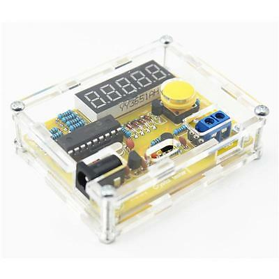 Best DIY Frequency Tester 1Hz-50MHz Crystal Counter Meter With Case
