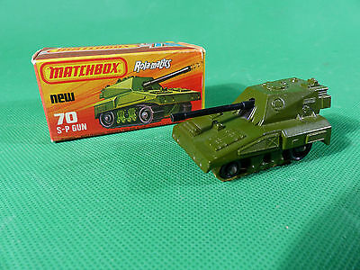 Matchbox Superfast No.70 - S-P Gun Tank in Box - Panzerhaubitze