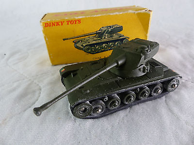 Dinky Toys Char / Tank AMX Panzer  - 1960er Jahre in Box