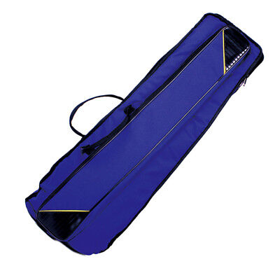 Durable Musical Instrument Parts Carry Bag for Tenor Trombone 910mm Blue