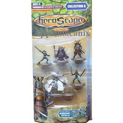 NEW Heroscape Defenders of Kinsland HEROES OF THE MOLTEN SEA Wave Collection 8