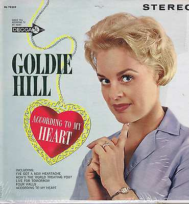 Goldie Hill – According To My Heart – DL 74219 – LP Vinyl Record
