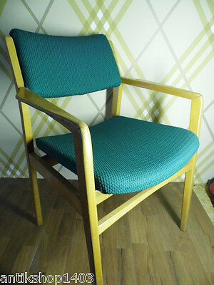 No C978 Beautiful 1960s Desk Chair;Armchair;Chair;Office chair