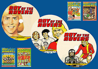Roy Of The Rovers Comics & More On 3 DVD ROMS