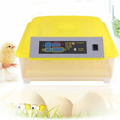 48Eggs Automatic Incubator Poultry Chicken Bird Egg Turning Hatcher High Quality