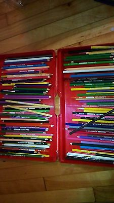 Vintage Laurentien Colored Pencils lot 130