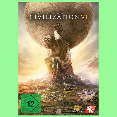 Sid Meier's Civilization 6 VI PC Spiel Key - CIV 6 Steam Download Code [EU] [DE]