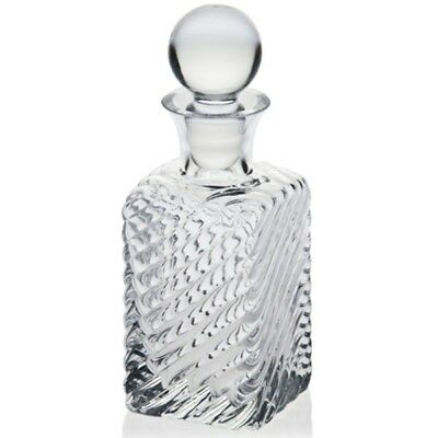 Glass Whiskey Decanter 500 ml Brandy Liquer Sherry Scotch Carafe Bottle Crystal