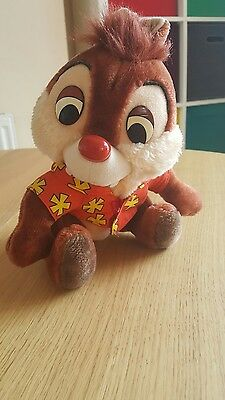 Rare Vintage Disney Chip & Dale Rescue Rangers Plush Toy From Disneyland