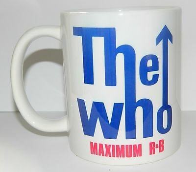 THE WHO - 60's STYLE TARGET DESIGN - 11oz MUG (100% DISHWASHER SAFE)