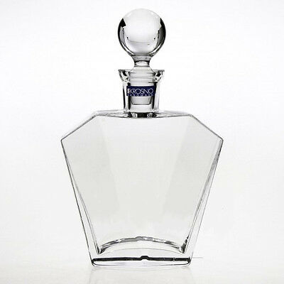 Glass Whiskey Decanter 900 ml Brandy Liquer Sherry Scotch Carafe Bottle Crystal
