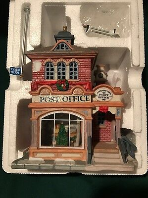 Coventry Cove  Post Office Lemax  Lighted Christmas Village  Number 65410km