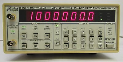 Stanford Research Systems DS335 3.1 MHZ Function Generator with GPIB & RS232
