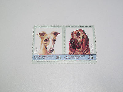 Timbre Poste Neuf Stamp TTB Grenadines & St Vincent Chiens b