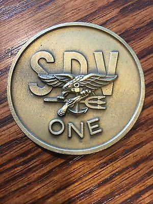 U.S. Navy SEAL Team DEVGRU NSW SDVT One Coin
