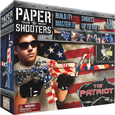 Paper Shooters Patriot Spitball Gun Kit