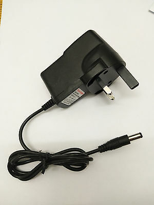 8.4V 1A  Mains AC-DC Adaptor regulated Power Supply Charger 5.5mm x2.5mm x 12mm