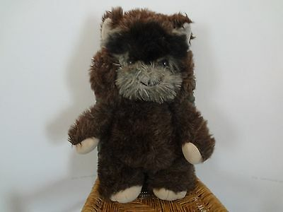 Vintage PAPLOO THE EWOK Kenner Lucasfilm Star Wars Plush 1984 15""