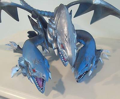 Blue Eyes Ultimate Dragon deluxe model Used Painted Yu-Gi-Oh! Missing Stand