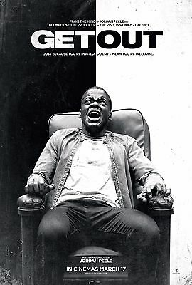 [GET OUT]2017 Korean Mini Movie Poster Movie Flyer A4Size Promotion Material