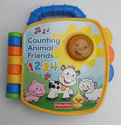 Counting Animal Friends Laugh Learn Electronic Book Fisher Price Storybook
