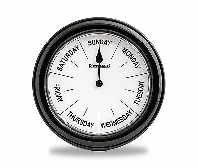 "Thoughtfully Designed Dementia Day Clock  8"" Diameter"