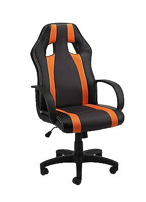 1home Office Chair Desk chair Swivel chair Gaming chair Sport seat high Back 40