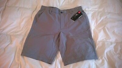 Under Armour Men's Match Play Golf Shorts Size 36 Steel Grey MSRP $64.99