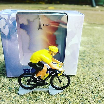 Tour De France Gift For Cyclist, Hand Painted Metal Cyclist,Bike, Cycling Figure
