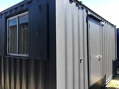 16x8 Ft Anti Vandal Site Office/Portable Building/Canteen Container
