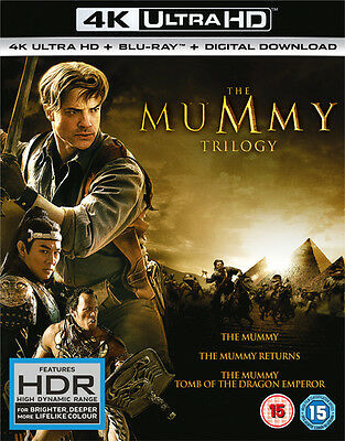 The Mummy: Trilogy (4K Ultra HD + Blu-ray + Digital Download) [UHD]