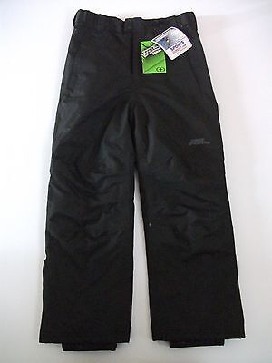 SPORTS DIRECT Boys Black NO FEAR Ski Pants Age 7-8 Years NEW WITH TAGS