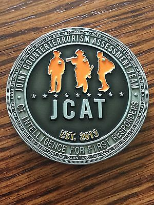 Central Intelligence Agency Joint Counterterrorism Assessment Team JCAT Coin