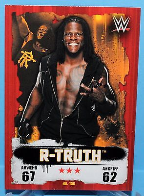 Topps WWE Slam Attax Takeover Map Nr.156 R-Truth