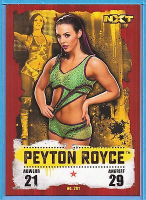 Topps WWE Slam Attax Takeover Map Nr.201 Peyton Royce