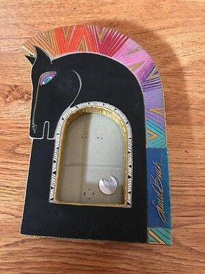 Beautiful Laurel Burch Horse Picture Frame HTF