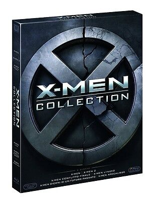X-Men Complete Collection (6 Blu-Ray) - Cofanetto Unico, Italiano, Nuovo