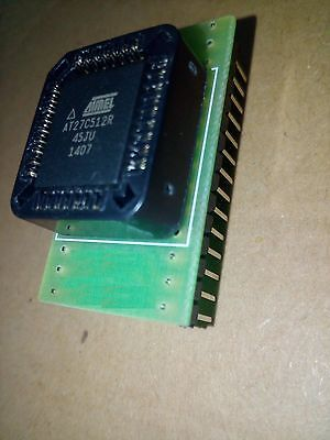 Commodore 64 PLA chip replacement using an EPROM 27C512-45(nS) and adaptor v1.0