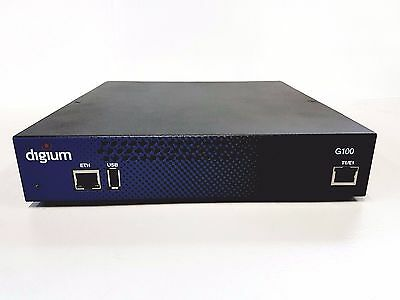 Digium 1G100F Single Span Digital T1/E1/PRI to VoIP Gateway Appliance