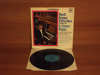 BACH Organ Favourites Played By E.Power Giggs : Stereo : CBS : SBRG 72168