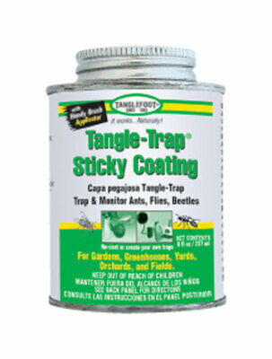 Tanglefoot 300000588 8 Oz Tangle-Trap® Brush On Sticky Trap Coating