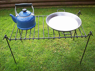 Bushcraft Cooking Grill Camping / Fire / Scouts / Civil War / Reenactment