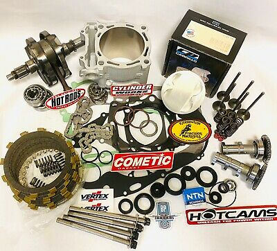 DRZ400 DRZ 400 400S 94mm 470 Hotrods Kibblewhite CP Hotcams Big Bore Stroker Kit