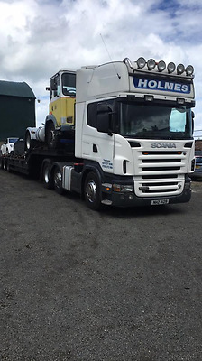 Scania v8 r580 tractor unit lorry to tow trailer like volvo fh not tag tipping