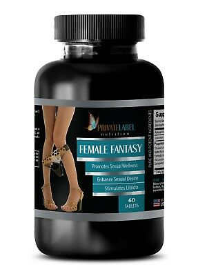 female enhancment pills - FEMALE FANTASY COMPLEX - female horny pills - 1 Bottle