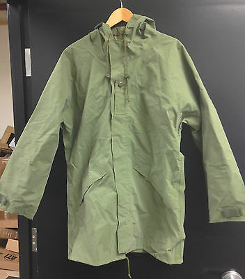 Canadian Army RAIN JACKET - 7344 (Large Long) OD Green