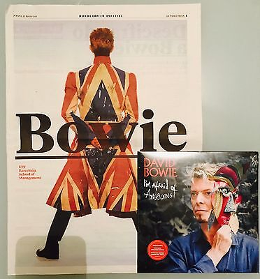 "David Bowie - I'm afraid of americans (7"" esclusivo mostra Barcelona)"