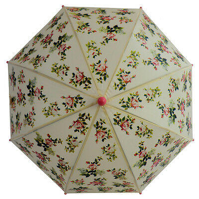 Kids Rose Floral Umbrella/Brolly - Powell Craft - Great present/gift